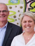 Jess Christmas and Michael Walsh, Roberts Real Estate - Launceston