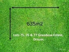 Lot 75-77, Grandvue Estate, Drouin, Vic 3818