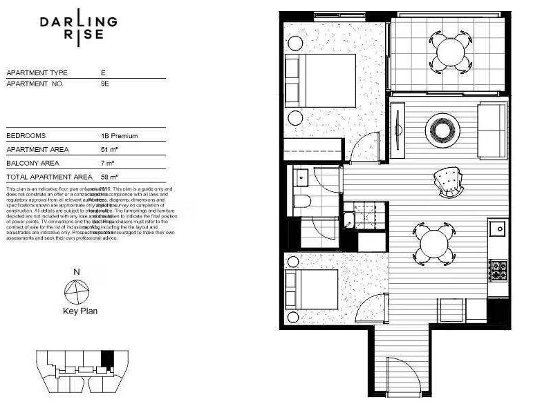 NA Darling Rise Darling Square, Sydney, NSW 2000 - floorplan