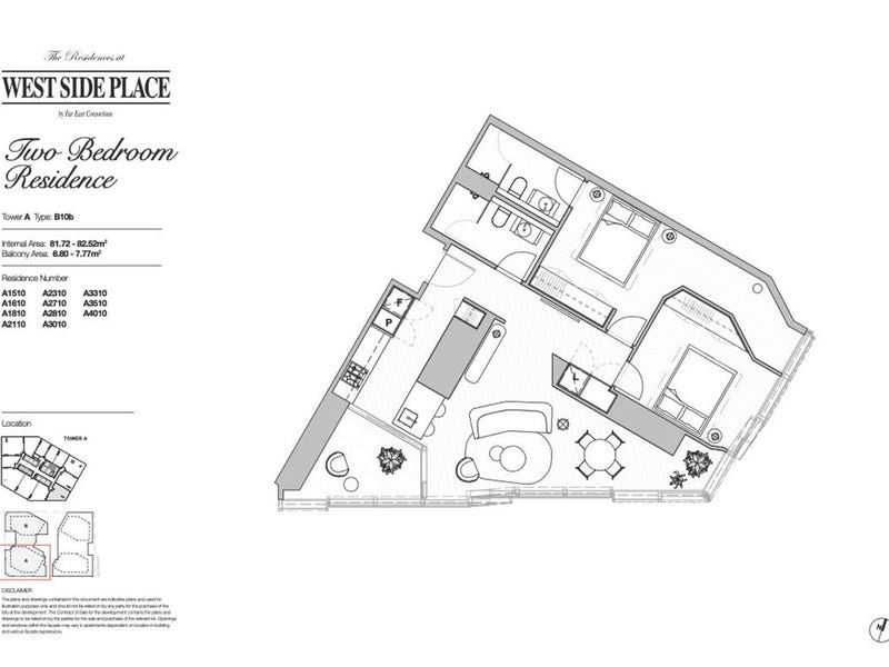 2810A/250 Spencer Street, Melbourne, Vic 3000 - floorplan