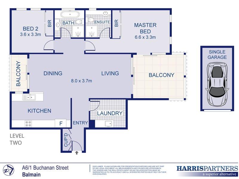 A6/1 Buchanan Street, Balmain, NSW 2041 - floorplan