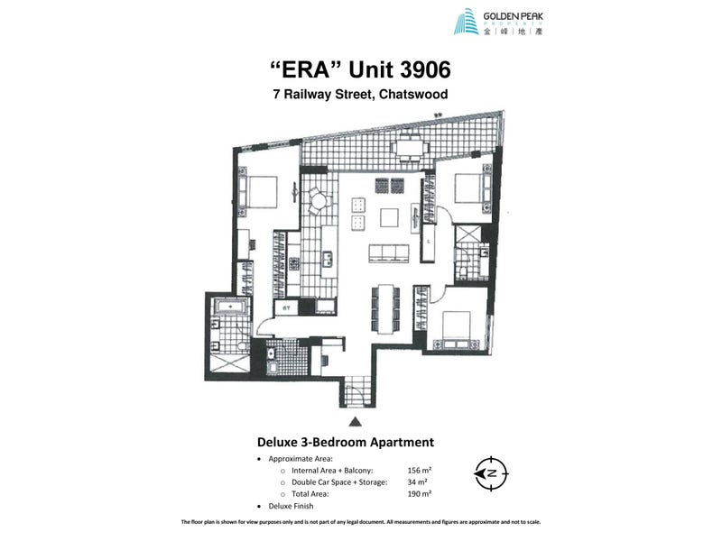 3906/7 Railway Street, Chatswood, NSW 2067 - floorplan