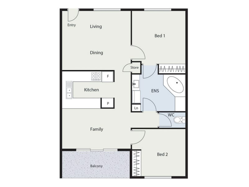 26/1 Waddell Place, Curtin, ACT 2605 - floorplan