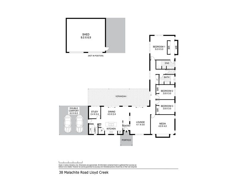 38 Malachite Road, Humpty Doo, NT 0836 - floorplan
