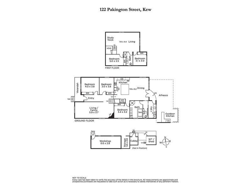 122 Pakington Street, Kew, Vic 3101 - floorplan
