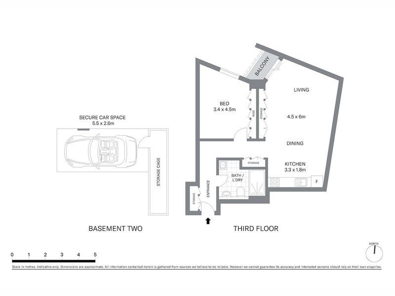 304/38 Hickson Road, Sydney, NSW 2000 - floorplan