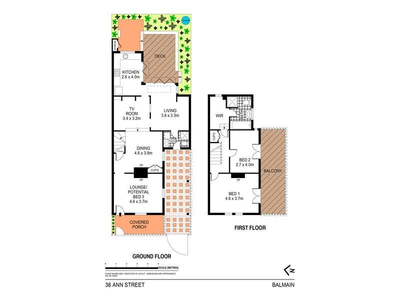 36 Ann Street, Balmain, NSW 2041 - floorplan