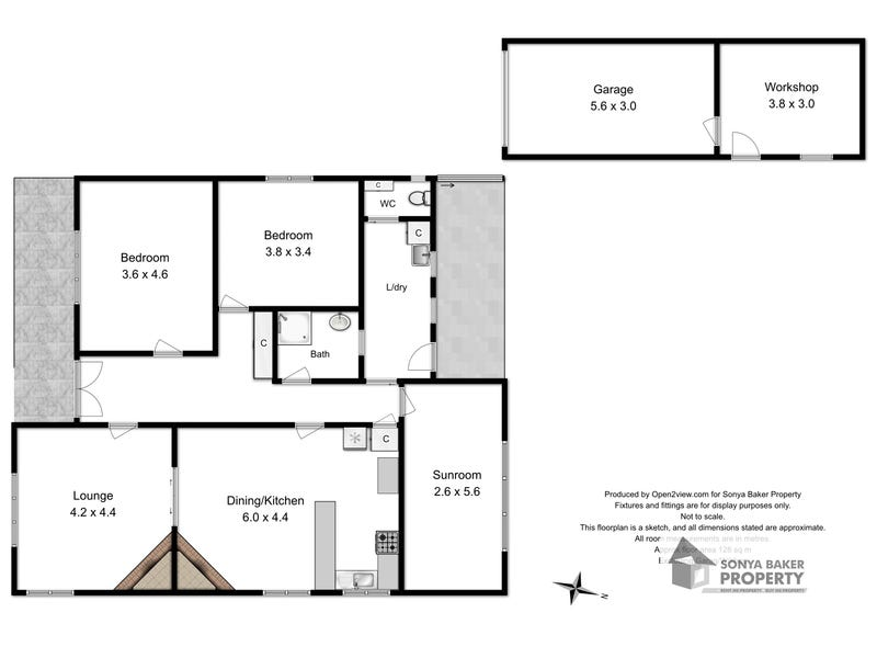 51 Goldie Street, Wynyard, Tas 7325 - floorplan