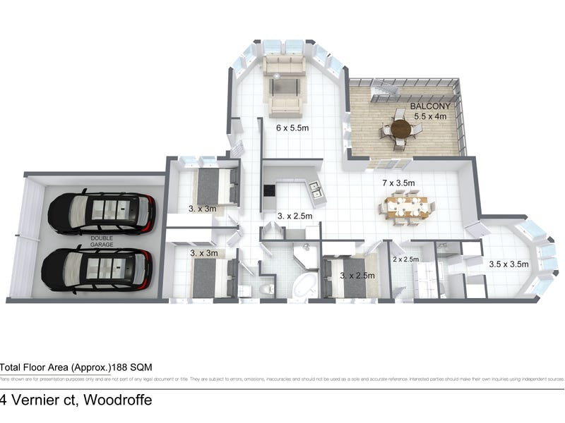 4 Vernier Circuit, Woodroffe, NT 0830 - floorplan