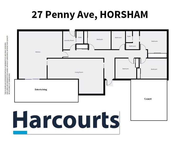 27 Penny Avenue, Horsham, Vic 3400 - floorplan