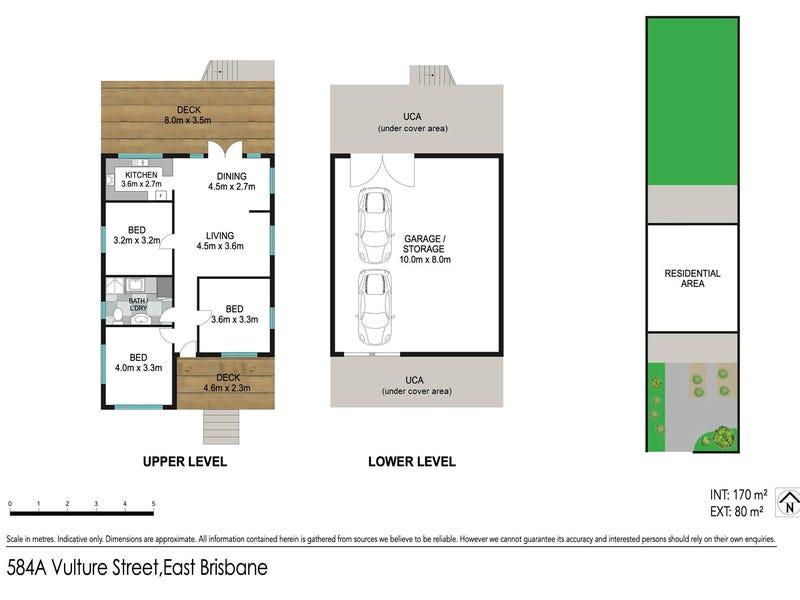 584A Vulture Street East, East Brisbane, Qld 4169 - floorplan