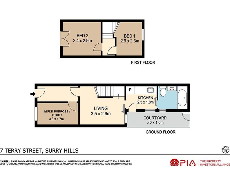27 Terry St, Surry Hills, NSW 2010 - floorplan