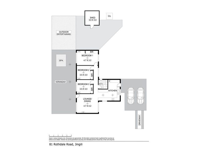 81 Rothdale Road, Jingili, NT 0810 - floorplan