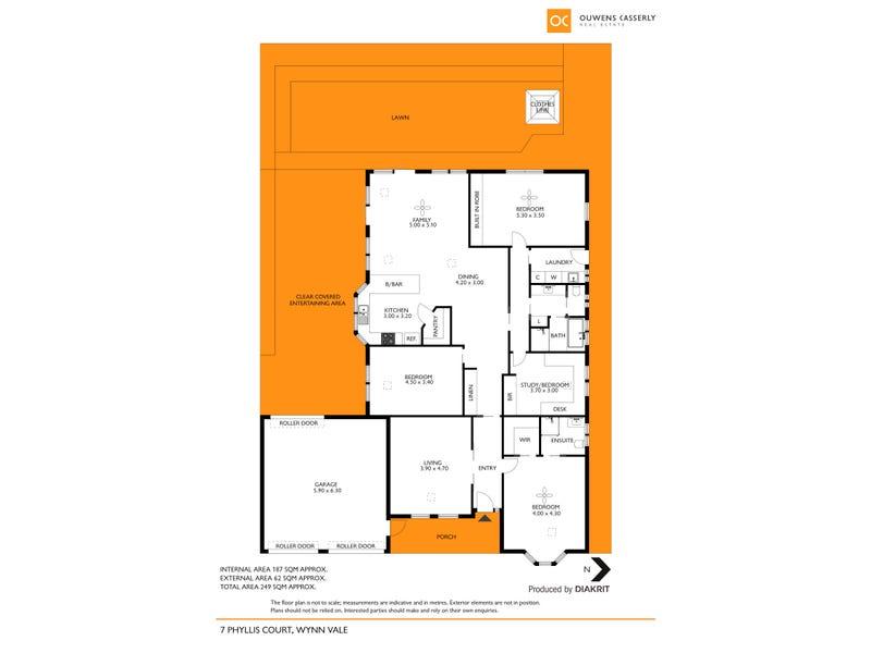 7 Phyllis Court, Wynn Vale, SA 5127 - floorplan