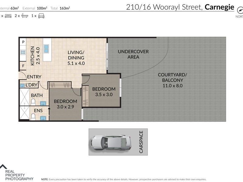 210/16 Woorayl Street, Carnegie, Vic 3163 - floorplan