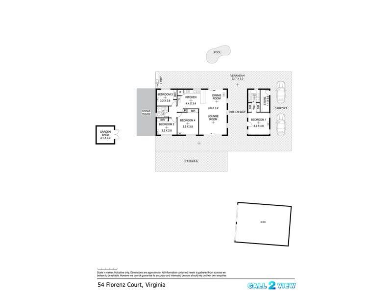 54 Florenz Court, Virginia, NT 0834 - floorplan