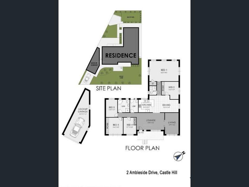 2 Ambleside Drive, Castle Hill, NSW 2154 - floorplan