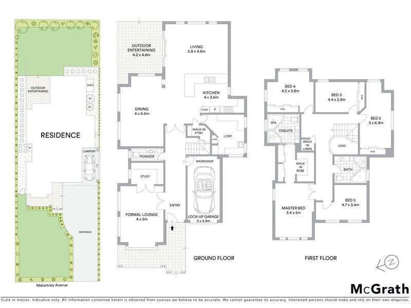 21 Macartney Avenue, Chatswood, NSW 2067 - floorplan