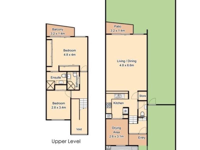 6/1 Park Avenue, Clayfield, Qld 4011 - floorplan