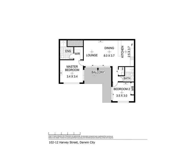 102/12 Harvey Street, Darwin City, NT 0800 - floorplan
