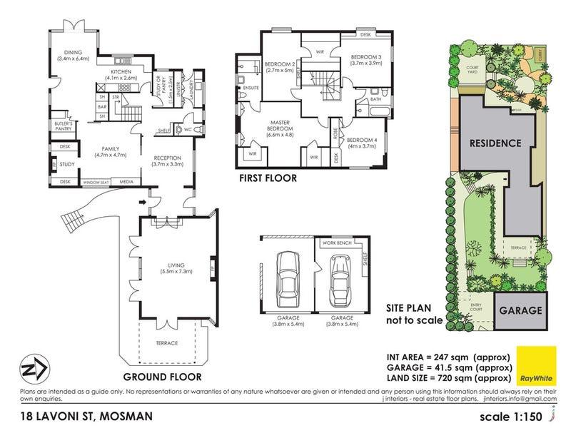 18 Lavoni Street, Mosman, NSW 2088 - floorplan