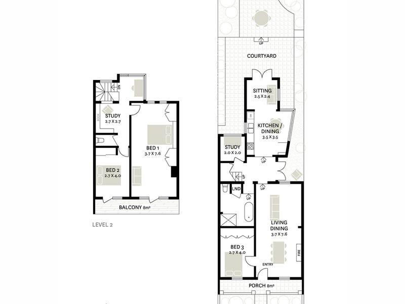 25 Stephen Street, Balmain, NSW 2041 - floorplan