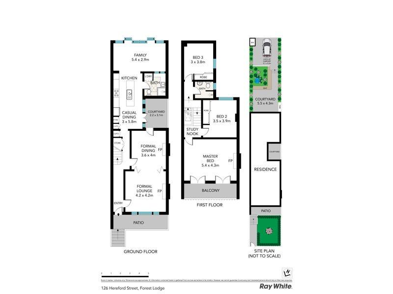126 Hereford Street, Forest Lodge, NSW 2037 - floorplan