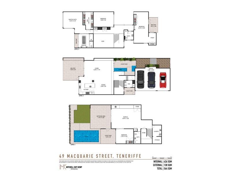 49 Macquarie Street, Teneriffe, Qld 4005 - floorplan