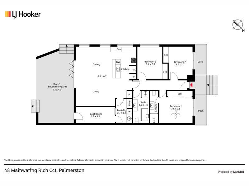 48 Mainwaring Rich Circuit, Palmerston, ACT 2913 - floorplan