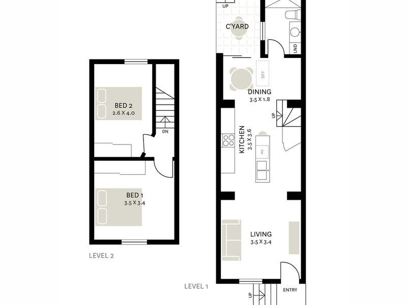 12 Goodchap Street, Surry Hills, NSW 2010 - floorplan
