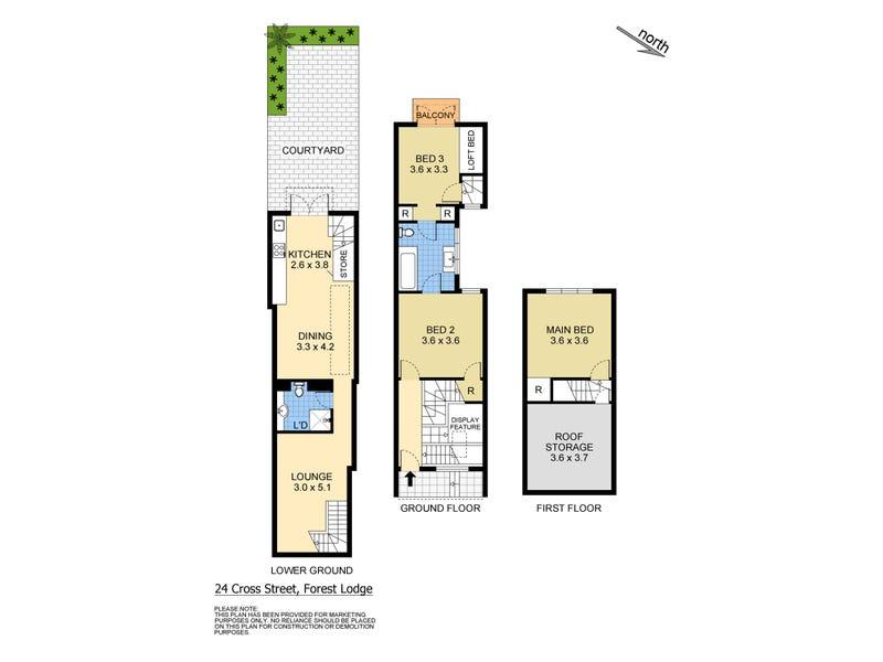 24 Cross Street, Forest Lodge, NSW 2037 - floorplan
