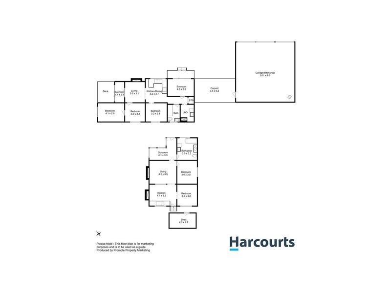 234-236 Coalmine Bend Road, Colebrook, Tas 7027 - floorplan