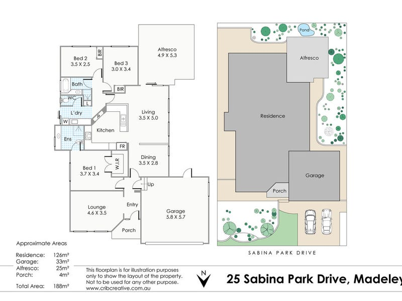 25 Sabina Park Drive, Madeley, WA 6065 - floorplan