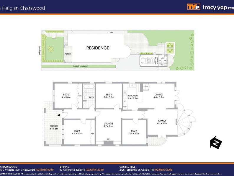 8 Haig Street, Chatswood, NSW 2067 - floorplan
