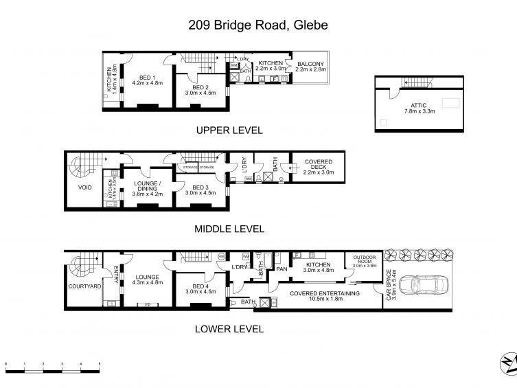 209 Bridge Road, Glebe, NSW 2037 - floorplan