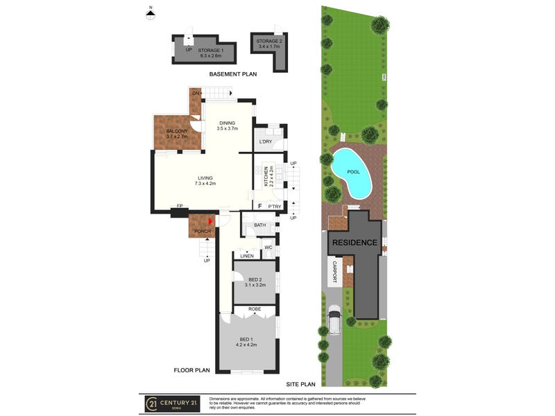 205 Fullers Road, Chatswood, NSW 2067 - floorplan