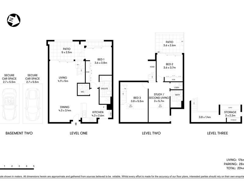 9/17 Septimus Street, Chatswood, NSW 2067 - floorplan