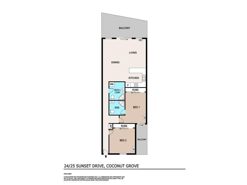 24/25 Sunset Drive, Coconut Grove, NT 0810 - floorplan