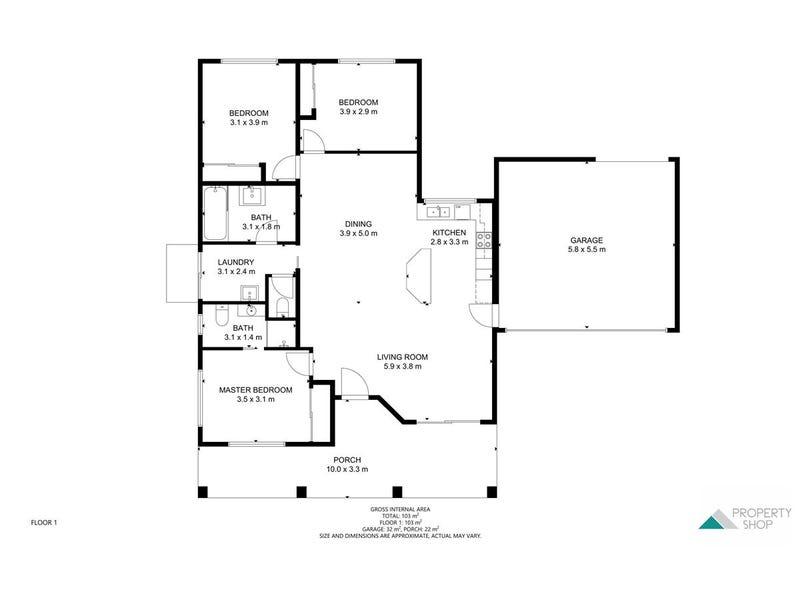 3 Orminston Close, Redlynch, Qld 4870 - floorplan