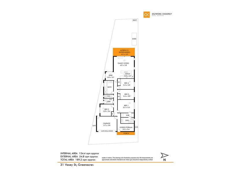 31 Vasey Street, Greenacres, SA 5086 - floorplan