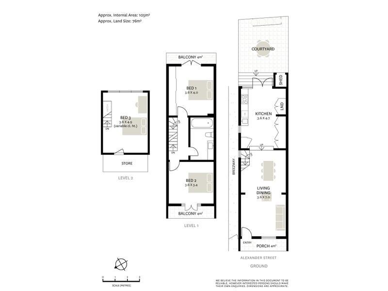 14 Alexander Street, Surry Hills, NSW 2010 - floorplan