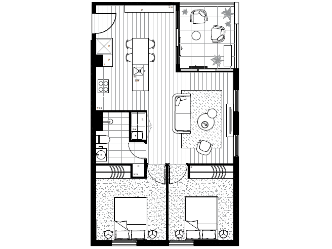 Brunswick West, address available on request - floorplan