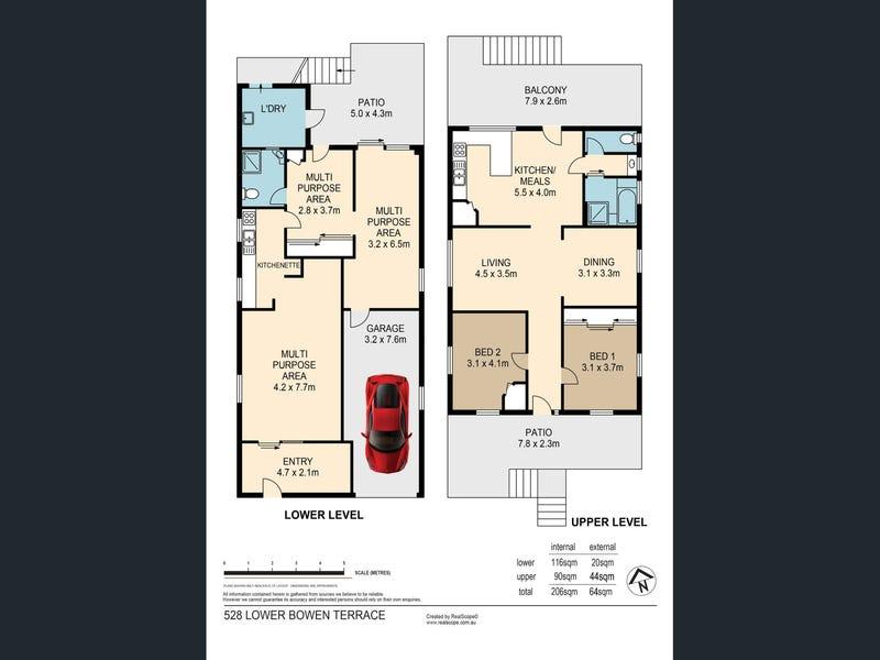 528 Lower Bowen Terrace, New Farm, Qld 4005