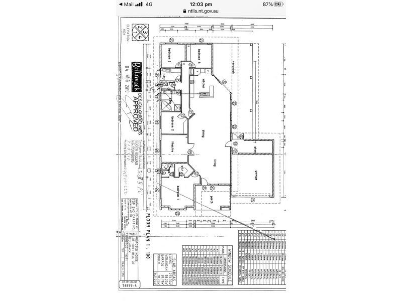 11 BELL CRESCENT, Bellamack, NT 0832 - floorplan