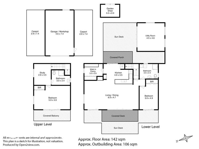 44 Matthew Flinders Drive, Alonnah, Tas 7150 - floorplan