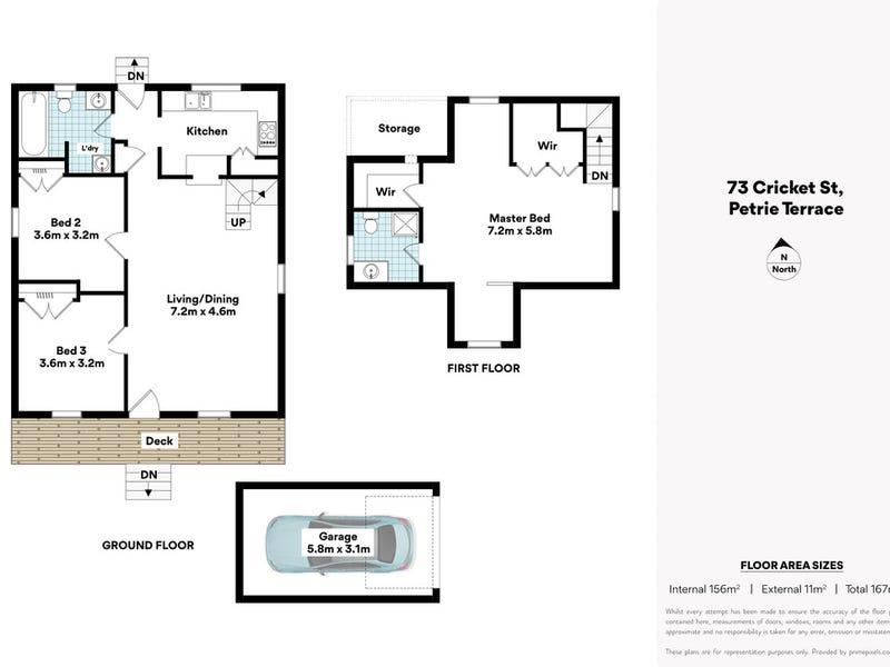 73 Cricket Street, Petrie Terrace, Qld 4000 - floorplan