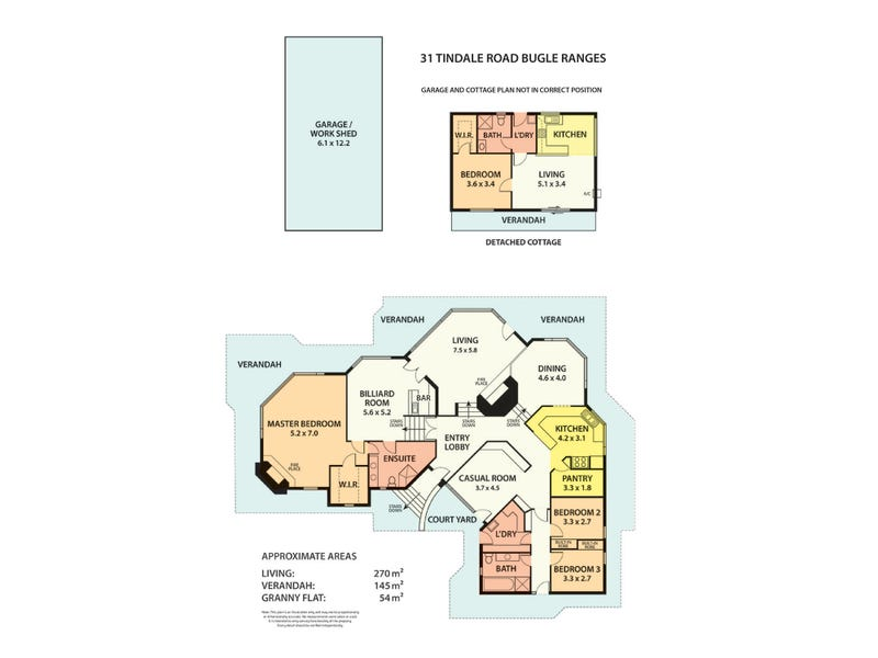 31 TINDALE Road, Bugle Ranges, SA 5251 - floorplan