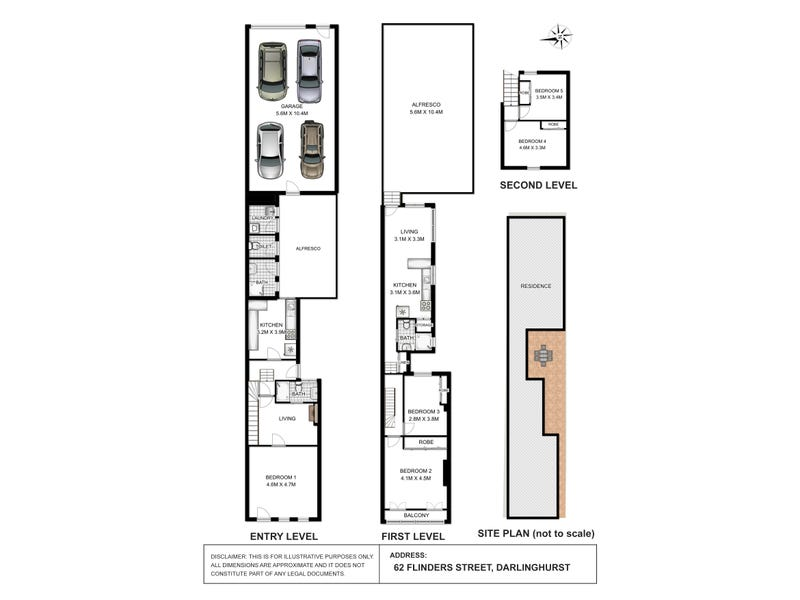 62 Flinders Street, Darlinghurst, NSW 2010 - floorplan