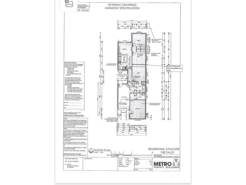 14 Rawlings circuit, Evanston, SA 5116 - floorplan