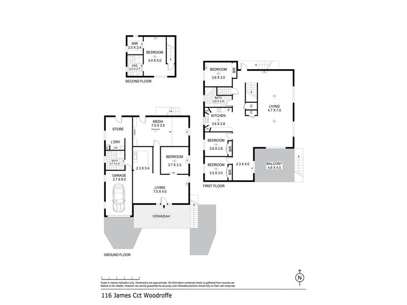 116 James Circuit, Woodroffe, NT 0830 - floorplan